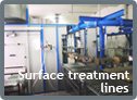 Surface treatment lines