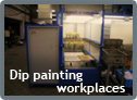 Dip painting workplaces